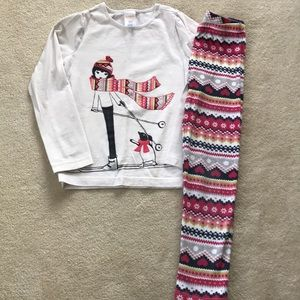 Girls Gymboree outfit very good condition